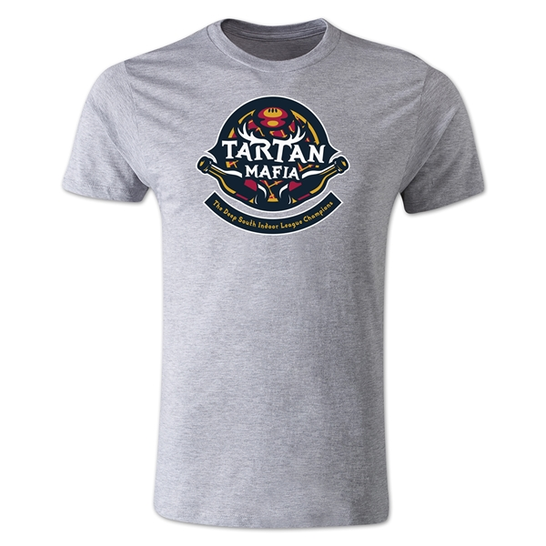 Tartan Mafia Alternative Rugby Commentary T-Shirt (Gray)