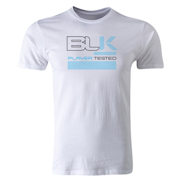 BLK Player Tested Premier Supporter T-Shirt (Sky/White)