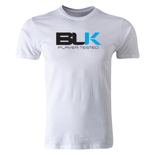 BLK Player Tested Premier Supporter T-Shirt (Black/White)