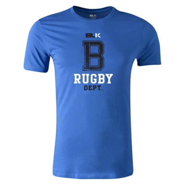 BLK Rugby Dept. Premier Supporter T-Shirt (Royal)