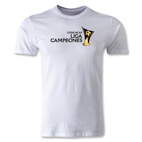CONCACAF Champions League Men's Fashion T-Shirt (White)