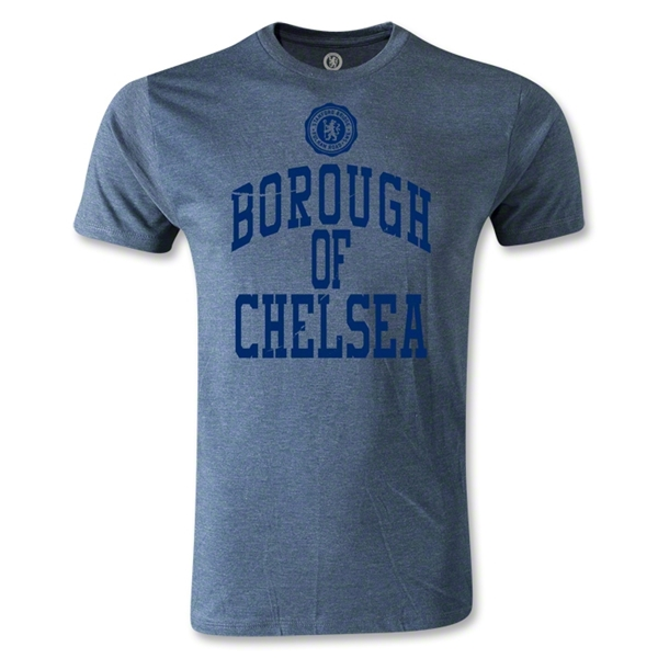 Borough of Chelsea Graphic Men's Fashion T-Shirt (Blue)
