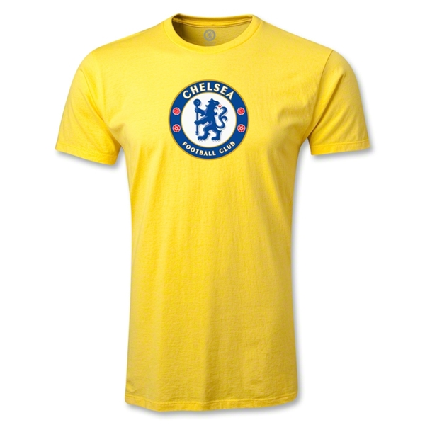 Chelsea Crest Men's Fashion T-Shirt (Yellow)