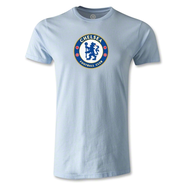 Chelsea Crest Men's Fashion T-Shirt (Sky Blue)
