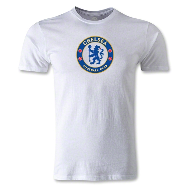 Chelsea Crest Men's Fashion T-Shirt (White)