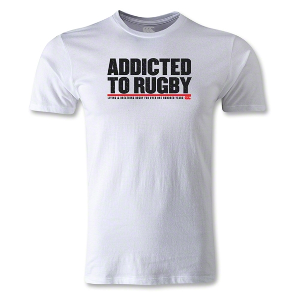 Canterbury CCC Addicted to Rugby T-Shirt (White)