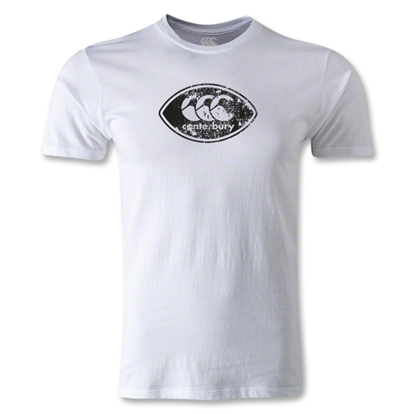 Canterbury CCC Rugby Ball Logo T-Shirt (White)