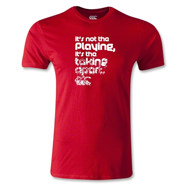 Canterbury CCC Taking Apart Rugby SS T-Shirt (Red)