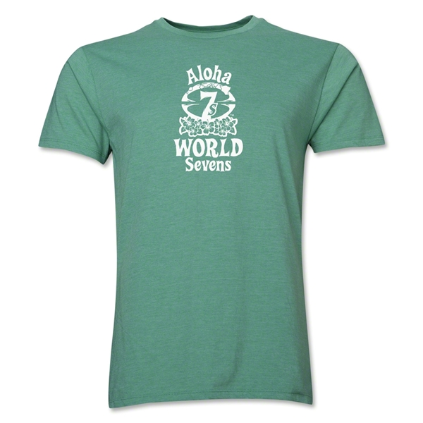 Aloha World Sevens Premier T-Shirt (Heather Green)