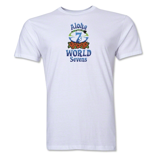 Aloha World Sevens Premier T-Shirt (White)