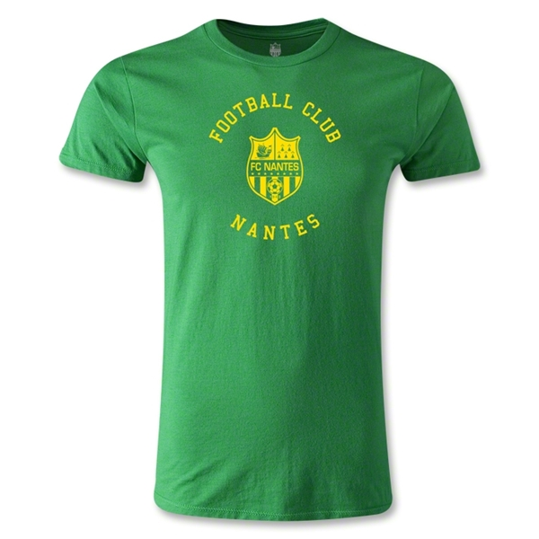 FC Nantes Graphic Men's Fashion T-Shirt (Green)