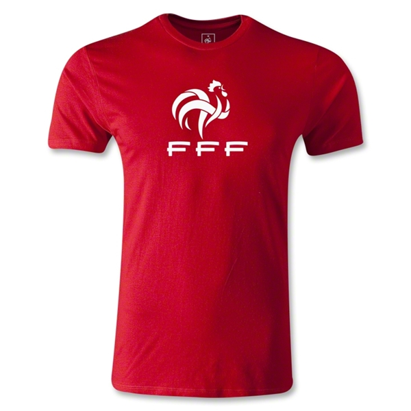 France FFF Men's Fashion T-Shirt (Red)