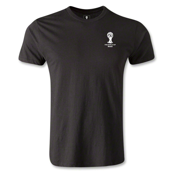2014 FIFA World Cup Brazil(TM) Men's Emblem Premium T-Shirt (Black)