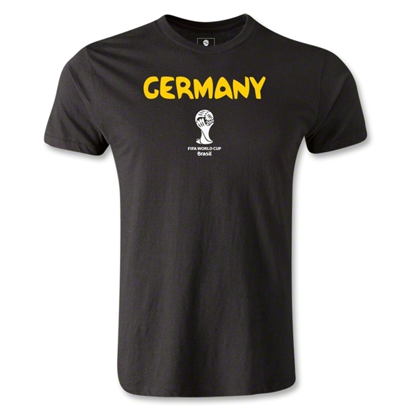 Germany 2014 FIFA World Cup Brazil(TM) Men's Premium Core T-Shirt (Black)