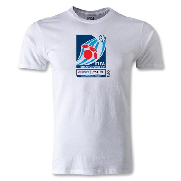FIFA Interactive World Cup Men's Fashion Emblem T-Shirt (White)