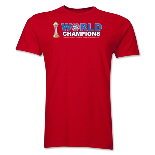 Bayern Munich FIFA Club World Cup 2013 Champions Men's T-Shirt