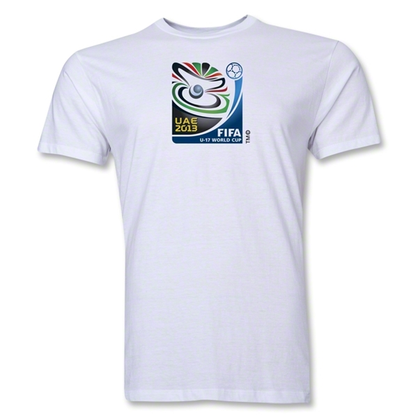 FIFA U-17 World Cup UAE 2013 Men's Official Emblem T-Shirt (White)