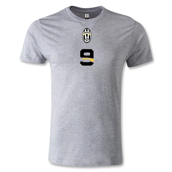 Juventus #9 T-Shirt (Gray)