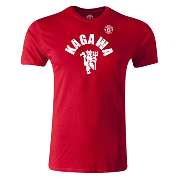 Manchester United Kagawa Men's Fashion T-Shirt (Red)