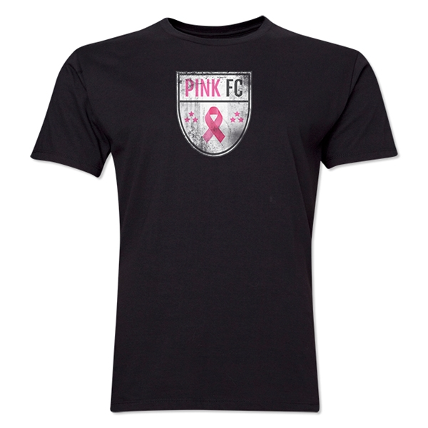 Pink FC Men's Fashion T-Shirt (Black)