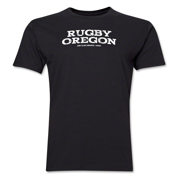 Rugby Oregon Premier T-Shirt (Black)