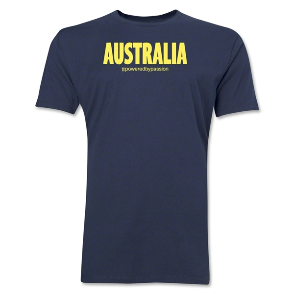 Australia Powered by Passion T-Shirt (Navy)