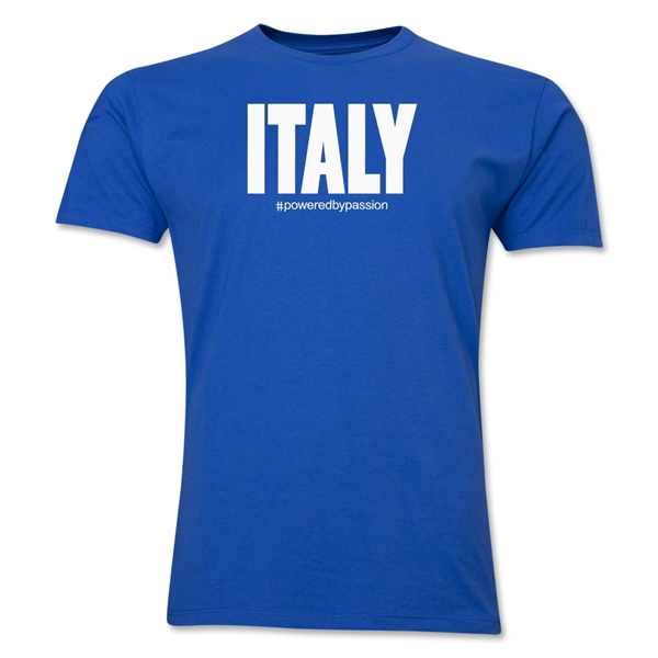 Italy Powered by Passion T-Shirt (Royal)
