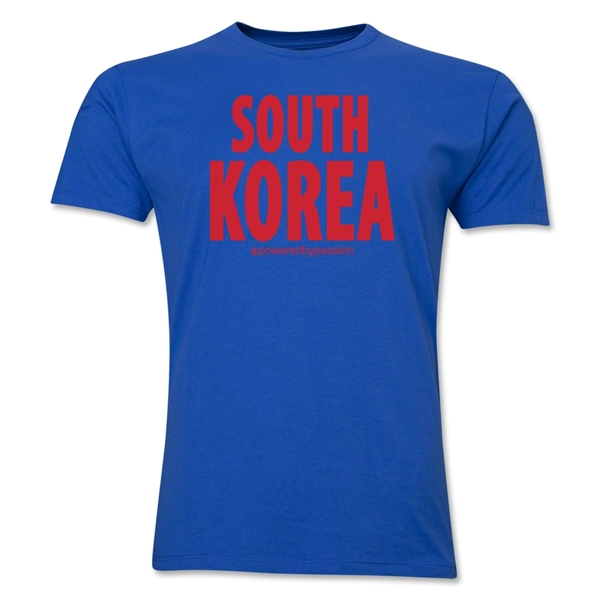 South Korea Powered by Passion T-Shirt (Royal)