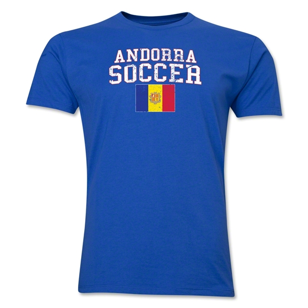 Andorra Soccer T-Shirt (Royal)