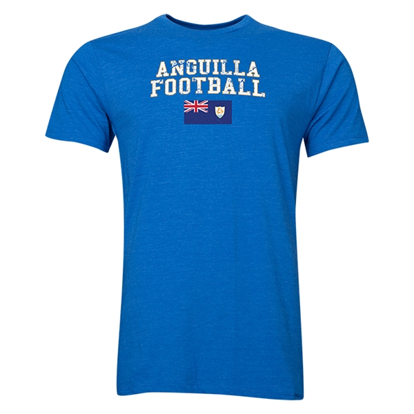 Anguilla Football T-Shirt (Royal)
