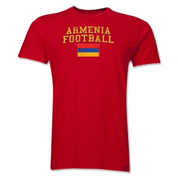 Armenia Football T-Shirt (Red)