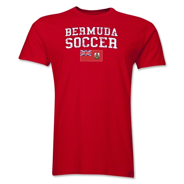 Bermuda Soccer T-Shirt (Red)