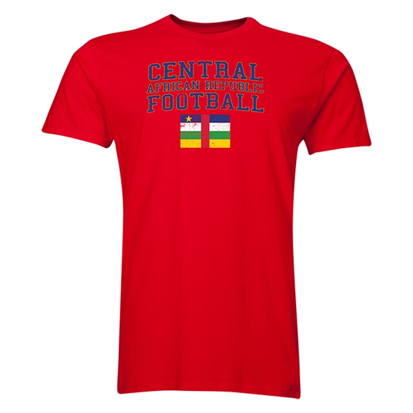 Central African Republic Football T-Shirt (Red)