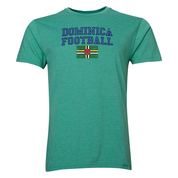 Dominica Football T-Shirt (Green)