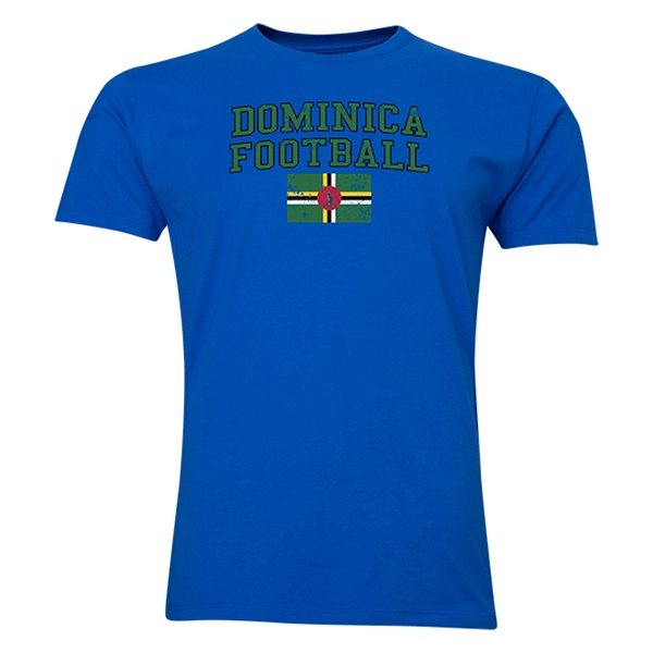 Dominica Football T-Shirt (Royal)