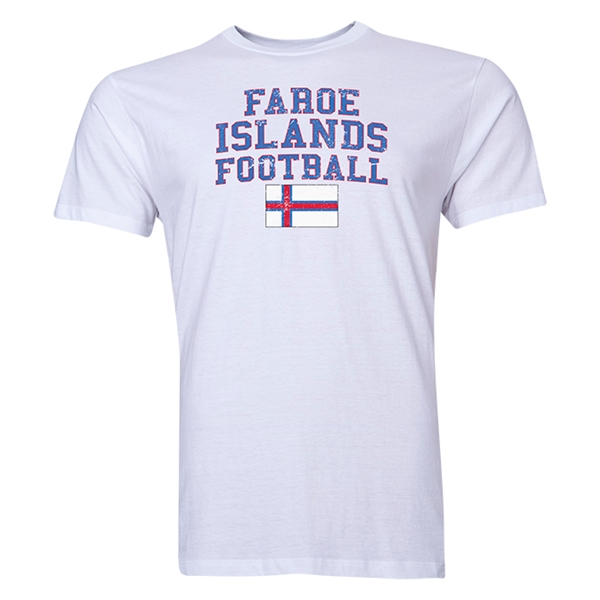 Faroe Islands Football T-Shirt (White)