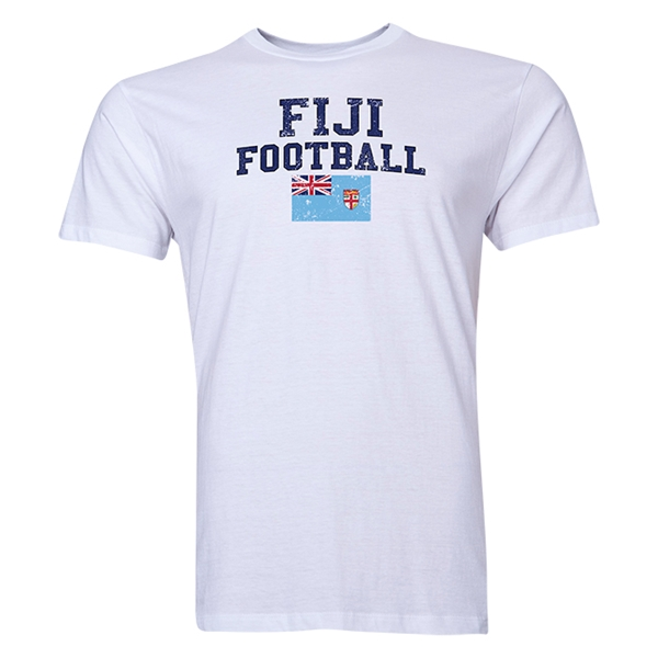 Fiji Football T-Shirt (White)