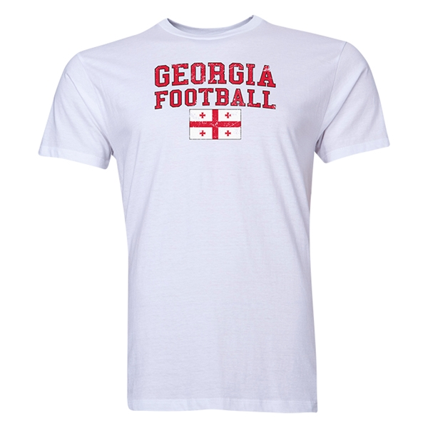 Georgia Football T-Shirt (White)