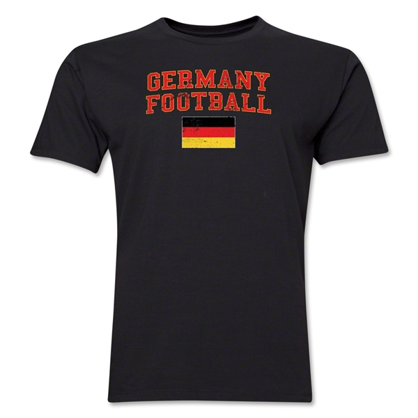 Germany Football T-Shirt (Black)