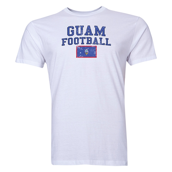 Guam Football T-Shirt (White)