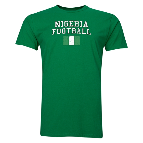 Nigeria Football T-Shirt (Green)