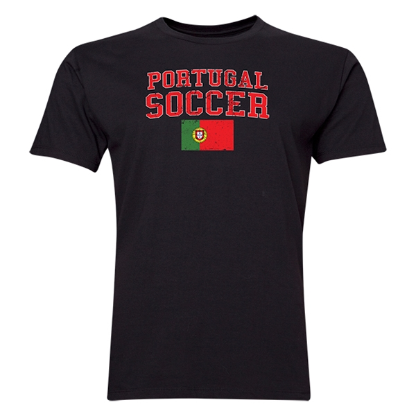 Portugal Soccer T-Shirt (Black)