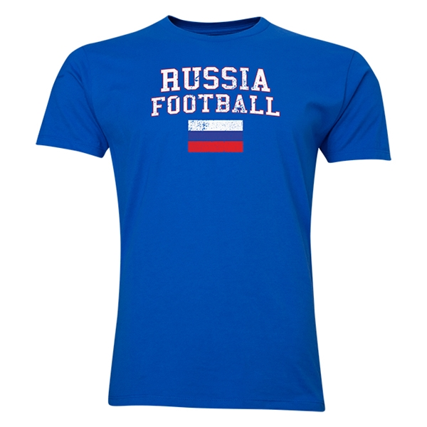 Russia Football T-Shirt (Royal)