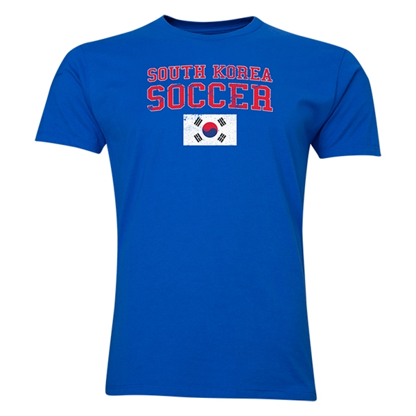 South Korea Soccer T-Shirt (Royal)