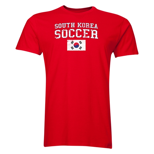 South Korea Soccer T-Shirt (Red)