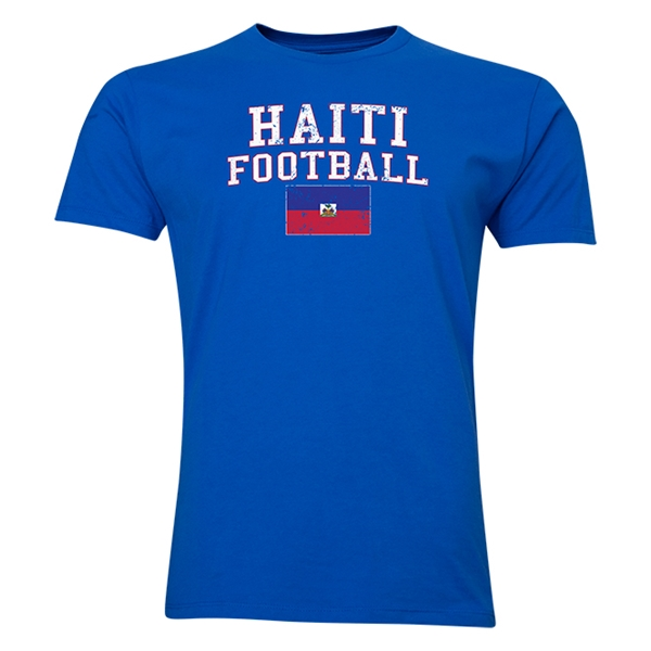 Haiti Football T-Shirt (Royal)