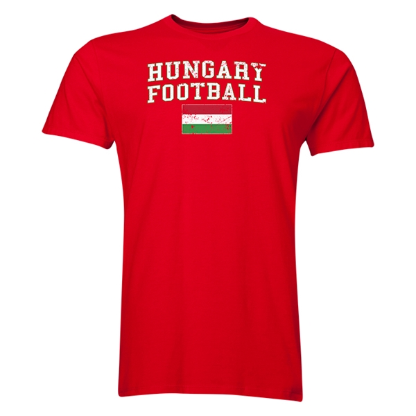 Hungary Football T-Shirt (Red)