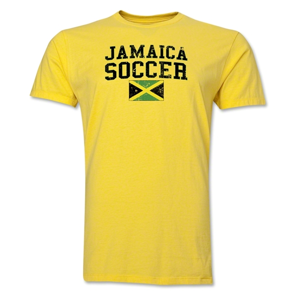 Jamaica Soccer T-Shirt (Yellow)