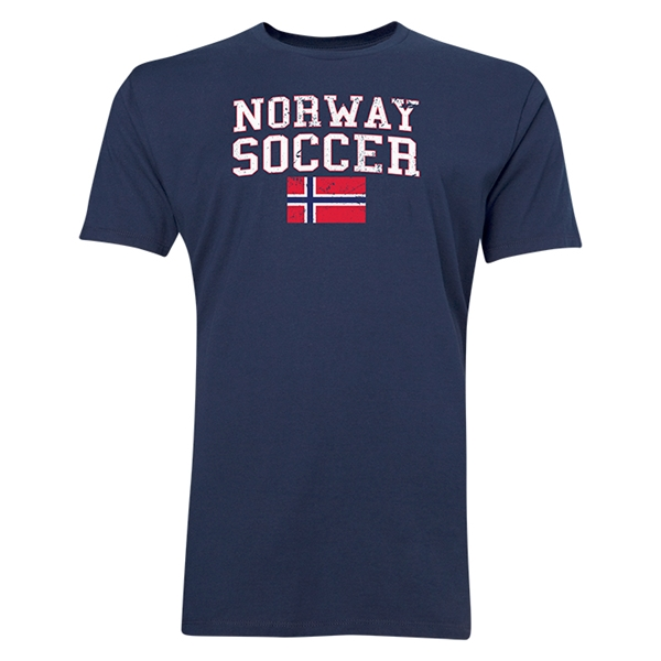 Norway Soccer T-Shirt (Navy)