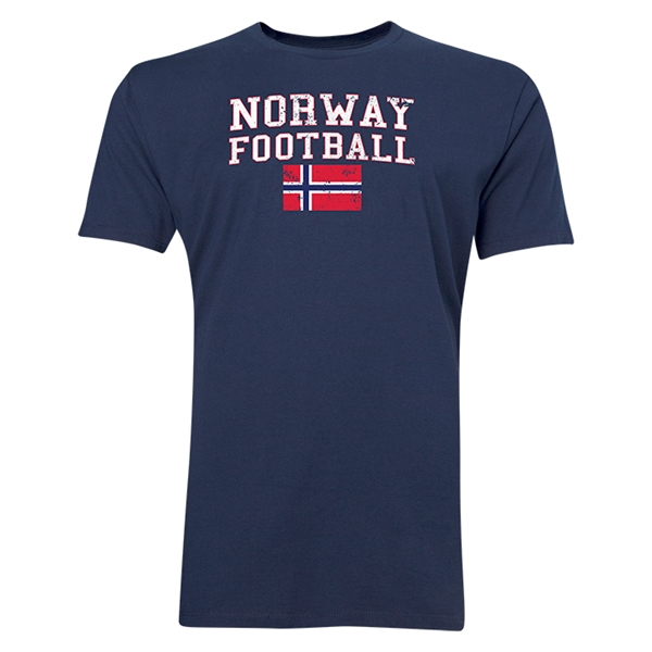 Norway Football T-Shirt (Navy)